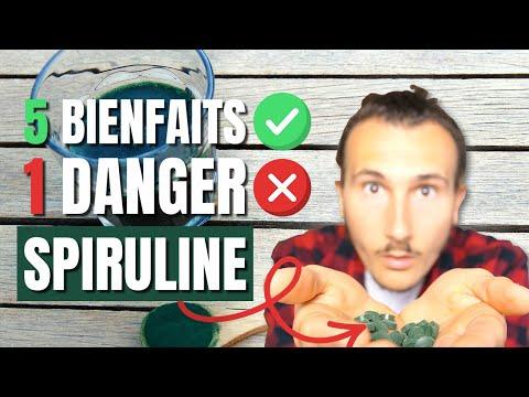 SPIRULINE : 5 Bienfaits & 1 Danger !