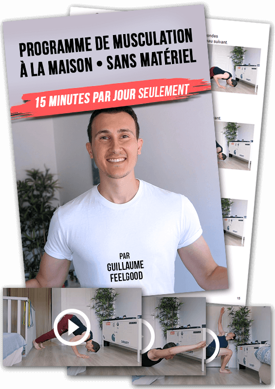 Programme musculation maison sans matériel et rapide