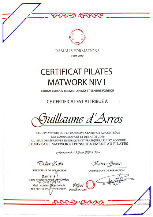 certification-pilate-matwork-level-1-guillaume-feelgood